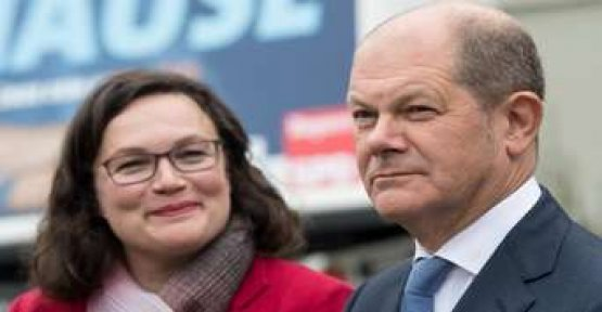 SPD in the fight against survey low - Scholz supported Nahles