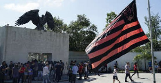 Ten Dead in fire in the football club Flamengo's training center is considered to be one of the most modern in the world