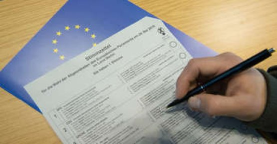 European elections in 2019: what does the ballot paper and how many crosses are allowed?
