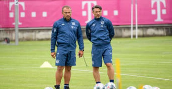 Shock for Kovac - the police at the training ground