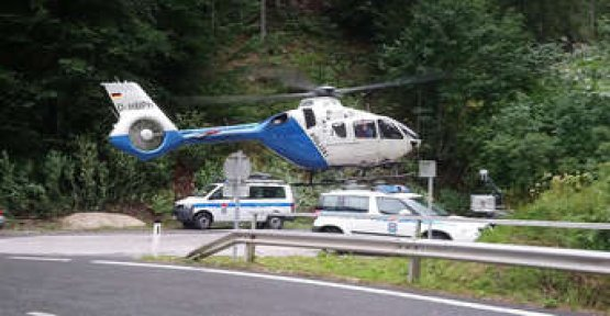 Munich-based couple lost on a mountain tour - emergency call, the woman provides large-scale operation