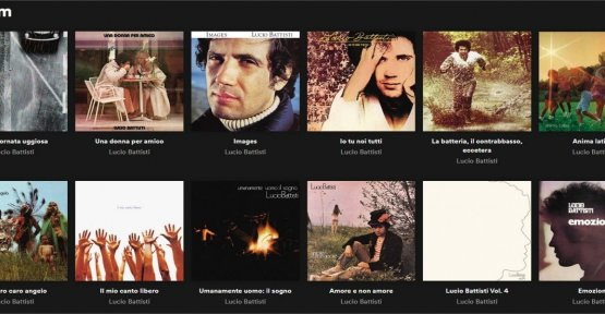 Lucio Battisti, '29 September' the most listened to on Spotify and the follower is feather