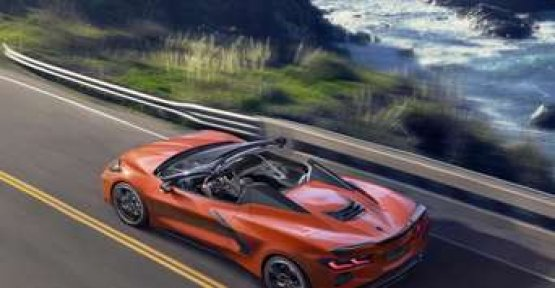 New Corvette comes as a convertible for the first time with a Hardtop
