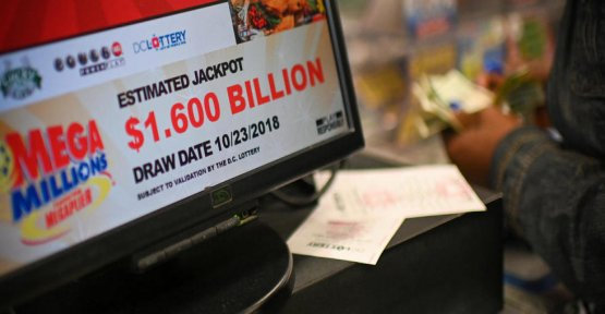 An American wins the lottery record of $ 1.6 billion