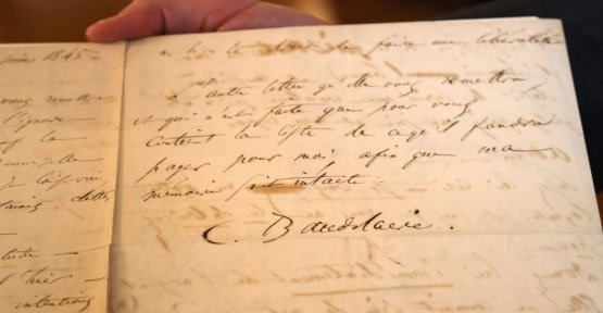 Auction in France: a farewell letter from Baudelaire made about 234,000 euros