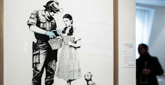Banksy auction in Paris: Happened again a bit Weird?