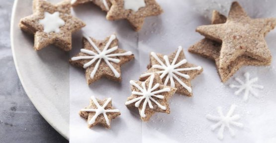 Cinnamon recipe for the classic star: under the cookies