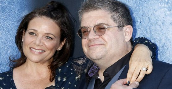 Comedian Patton Oswalt is being attacked on Twitter because of his new love