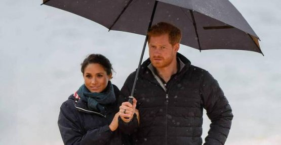 Duchess Meghan and Prince Harry: Relaxed in new Zealand - despite the rain