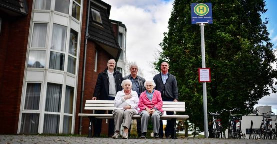 Duisburg has a new slip-stop for people with dementia