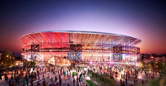FC Barcelona : the crazy project of the future Camp Nou !