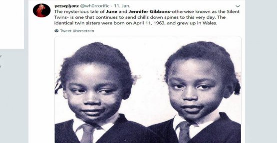 Gemini: The insane love of the mute Gibbons sisters