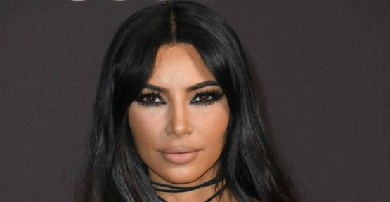 Kim Kardashian: fire-risk of escape from your own home!