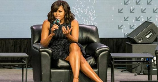 Michelle Obama: In her book, she fires against Trump