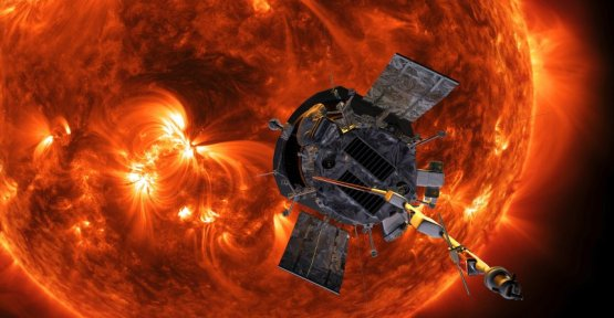 The NASA probe flew to the Sun at a record close distance