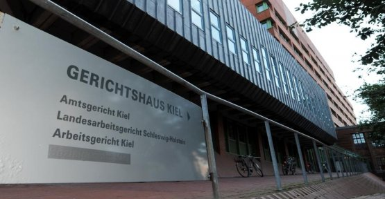 Report from Kiel: witness after three days dead on the court toilet discovered