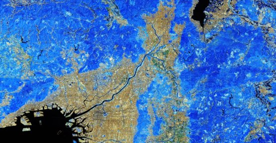 Satellite image of the week: Kyoto blue