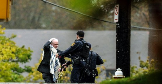 Shots fired at synagogue in Pittsburgh: the Alleged shooter is said to have announced the fact on the right Internet portal