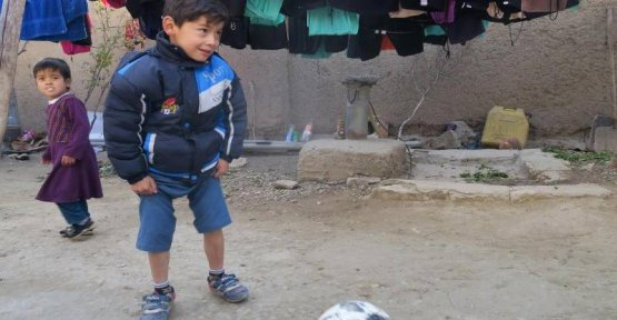 Without the Ball: a Small Messi Fan, before the Taliban fled