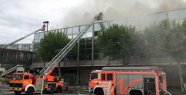 Fire in the Rheingoldhalle in Mainz, Germany: police investigating arson - damage tremendously