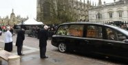While the coffin is invited to: a hearse gets Parking ticket