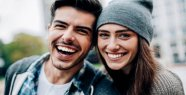 Relationship: A word in the partnership shows how happy the partners are