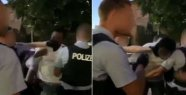 Police in Rosenheim escalates Video surfaced...