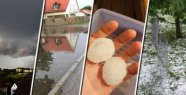Hail-roller Freising Region: broken cars, house trashed in danger, the train rams tree - photos